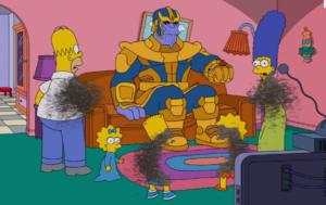 Los Simpsons Thanos
