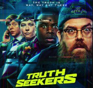 Truth Seekers Simon Pegg Nick Frost trailer Amazon Prime Video Comic Con 2020