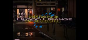 Call Me Blood Orange Park Hye Jin nuevo sencillo video