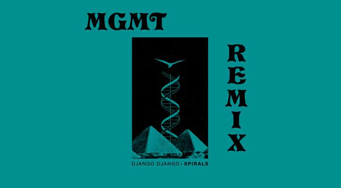 Escucha el remix de MGMT para 'Spirals' de Django Django