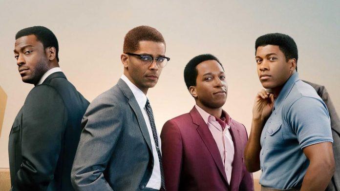 Lee más sobre el artículo Cassius Clay (Muhammad Ali), Malcolm X, Jim Brown y Sam Cooke se reúnen en el debut como directora de Regina King: 'One Night in Miami…'
