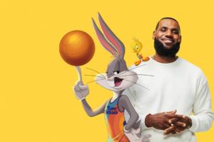 Space Jam 2 imágenes LeBron James Bugs Bunny Looney Tunes estreno
