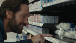 Cazafantasmas nuevo trailer mini hombre de malvavisco Paul Rudd Ghostbusters