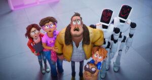 La familia Mitchell contra las maquinas estreno Latinoamerica trailer Netflix Conectando