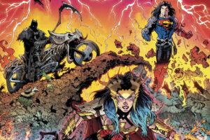 Dark Nights Death Metal nuevo comic Batman soundtrack Marilyn Manson Rise Against Mastodon Denzel Curry IDLES