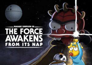 Disney Plus Los Simpson Star Wars cortometraje May The 4th