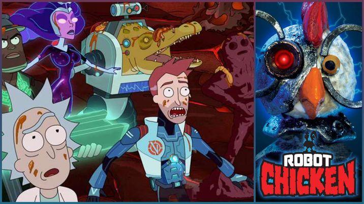 'Rick and Morty', 'Robot Chicken', 'Aqua Teen Hunger Force' y más shows de Adult Swim desarrollarán sus propios spin-offs