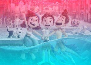 Luca Disney Plus Pixar reflexion monstruos marinos